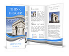 The Arc de Triomphe Paris Brochure Templates