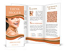 Happy smiling Brochure Templates