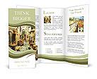 Retro style old Croatia Brochure Templates