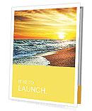 Sun sea beach Presentation Folder