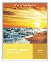 Sun sea beach Word Templates