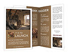 Disorder in the attic Brochure Templates