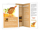 Honey and honeycomb Brochure Templates