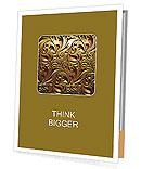 Classic golden ornament Prospectus de présentation