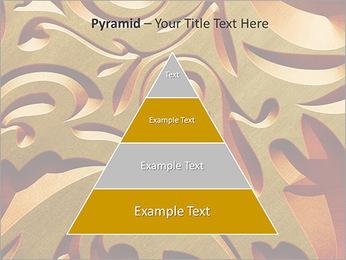 Ornement d'or classique Modèles des présentations  PowerPoint - Diapositives 10