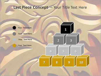Ornement d'or classique Modèles des présentations  PowerPoint - Diapositives 11