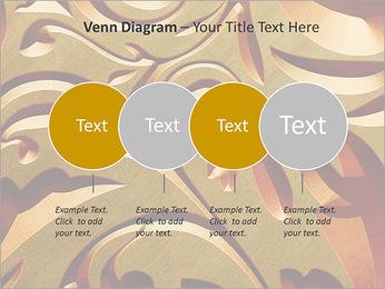 Ornement d'or classique Modèles des présentations  PowerPoint - Diapositives 12