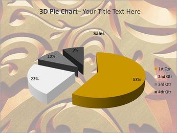 Ornement d'or classique Modèles des présentations  PowerPoint - Diapositives 16