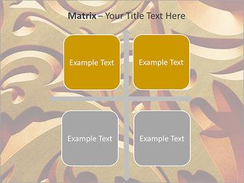 Ornement d'or classique Modèles des présentations  PowerPoint - Diapositives 17