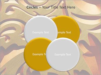 Ornement d'or classique Modèles des présentations  PowerPoint - Diapositives 18