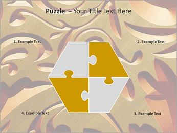 Ornement d'or classique Modèles des présentations  PowerPoint - Diapositives 20