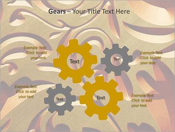 Ornement d'or classique Modèles des présentations  PowerPoint - Diapositives 27