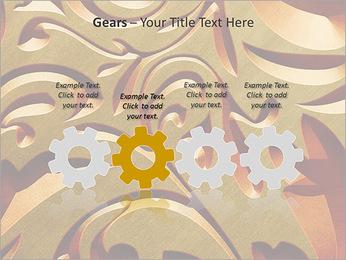 Ornement d'or classique Modèles des présentations  PowerPoint - Diapositives 28