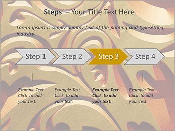 Ornement d'or classique Modèles des présentations  PowerPoint - Diapositives 4