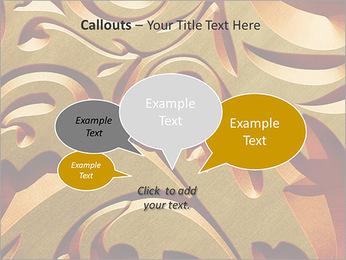 Ornement d'or classique Modèles des présentations  PowerPoint - Diapositives 53