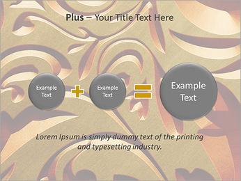Ornement d'or classique Modèles des présentations  PowerPoint - Diapositives 55