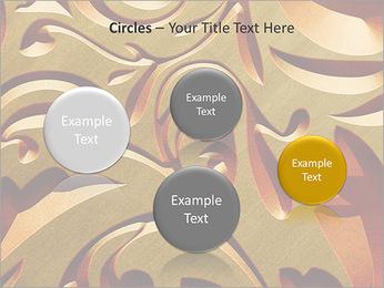 Ornement d'or classique Modèles des présentations  PowerPoint - Diapositives 57
