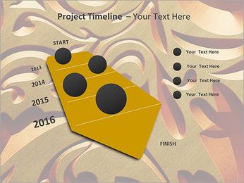 Ornement d'or classique Modèles des présentations  PowerPoint - Diapositives 6