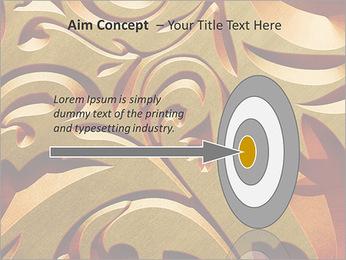 Ornement d'or classique Modèles des présentations  PowerPoint - Diapositives 63