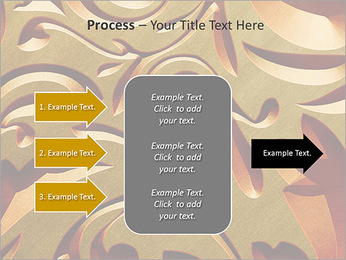 Ornement d'or classique Modèles des présentations  PowerPoint - Diapositives 65