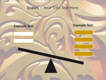 Ornement d'or classique Modèles des présentations  PowerPoint - Diapositives 69