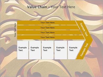 Ornement d'or classique Modèles des présentations  PowerPoint - Diapositives 7