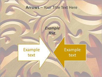 Ornement d'or classique Modèles des présentations  PowerPoint - Diapositives 70