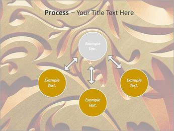 Ornement d'or classique Modèles des présentations  PowerPoint - Diapositives 71