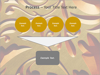 Ornement d'or classique Modèles des présentations  PowerPoint - Diapositives 73
