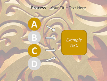 Ornement d'or classique Modèles des présentations  PowerPoint - Diapositives 74