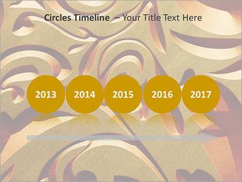 Ornement d'or classique Modèles des présentations  PowerPoint - Diapositives 9