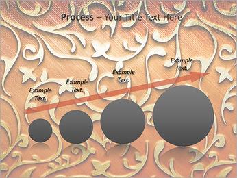 Ornement d'or sur un fond rouge Modèles des présentations  PowerPoint - Diapositives 67