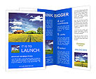 Field and farmhouse Brochure Templates