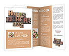 Happy Mother Day writing on the wall Brochure Templates
