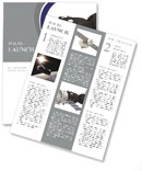 Spaceship Newsletter Template
