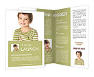 Smiling little boy Brochure Templates