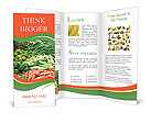Fresh vegetables Brochure Templates