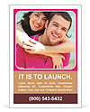 Happy couple in love Ad Template
