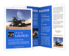 Space car of the future Brochure Templates