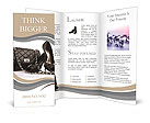Female shoes and handbag Brochure Templates
