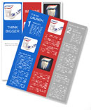 Toothpaste, toothbrush and tooth Newsletter Template
