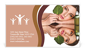 Natural cosmetics business card template design id 0000010909 natural cosmetics business card template colourmoves