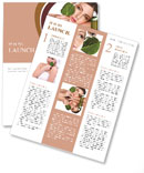 Natural cosmetics Newsletter Templates