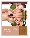 Natural cosmetics Word Templates
