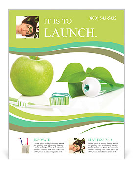 All for healthy teeth apple toothpaste and brush flyer template all for healthy teeth apple toothpaste and brush flyer template saigontimesfo