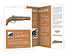 Vintage gun powder Brochure Templates