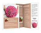 Wedding Bouquet Brochure Templates