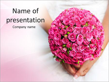Розовые розы фон Романтической свадьба шаблон