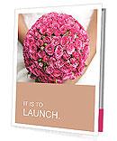 Wedding Bouquet Presentation Folder