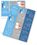 For the prevention of teeth Newsletter Template